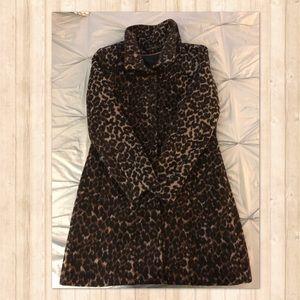 Via Spiga Leopard Coat